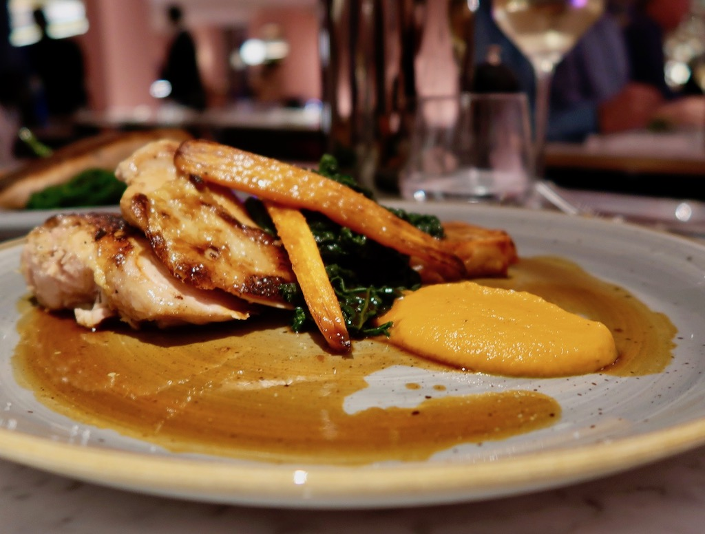 Roast Chicken breast - Boulevard Theatre restaurant