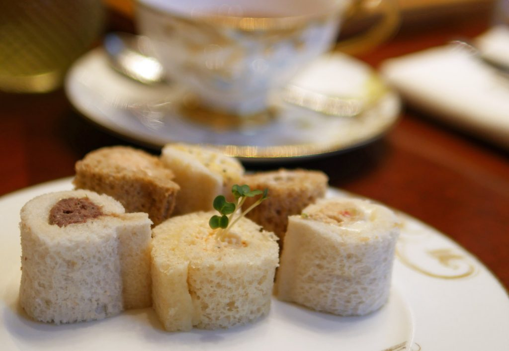 Sandwiches - The Rosebery Mandarin Oriental festive afternoon tea