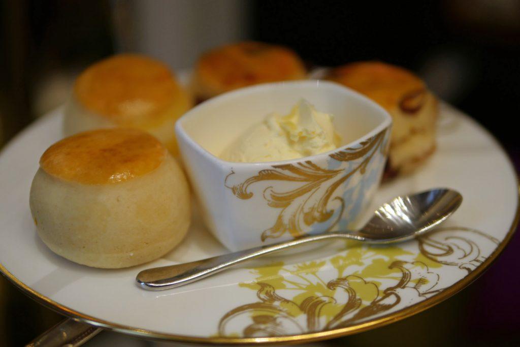 Scones and Clotted Cream - Mandarin Oriental The Rosebery