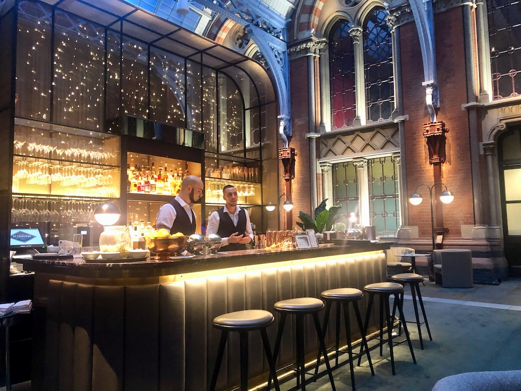 St Pancras Renaissance Hotel - Hansom Room