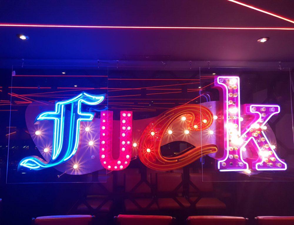 The Wellington, Neon signs