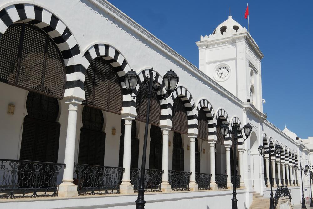 Tunis, Tunisia - entrance to the Medina