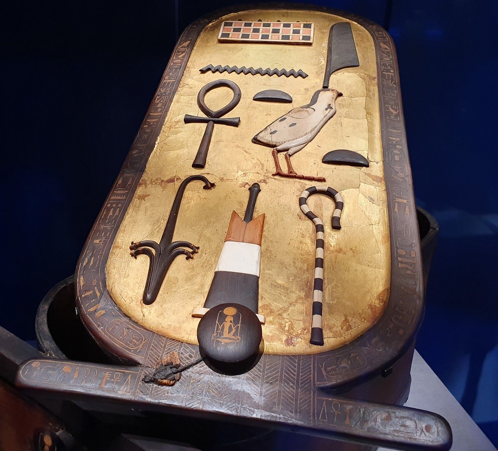 Tutankhamun-Saatchi-Gallery-cartouche-box