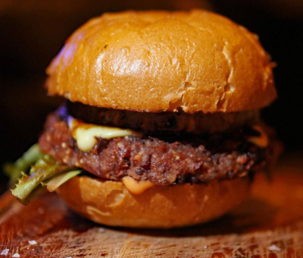 Vegan Burger - Haymarket Wine House