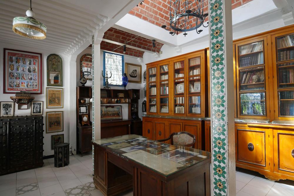 Dar el-Annabi - sidi bou said - library