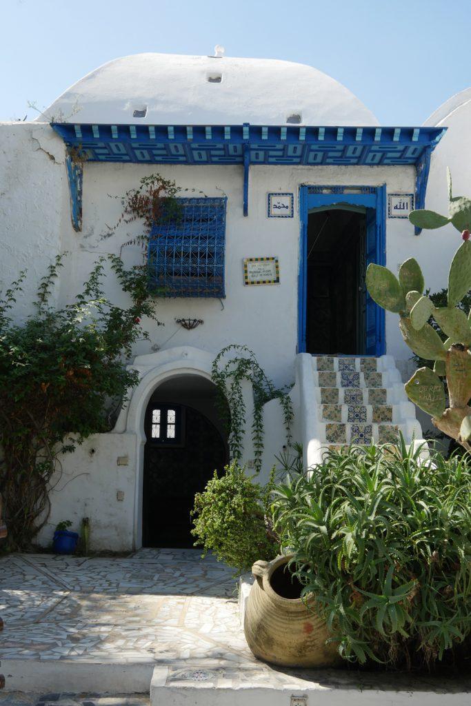 sidi bou said - Dar el-Annabi traditional house exterior