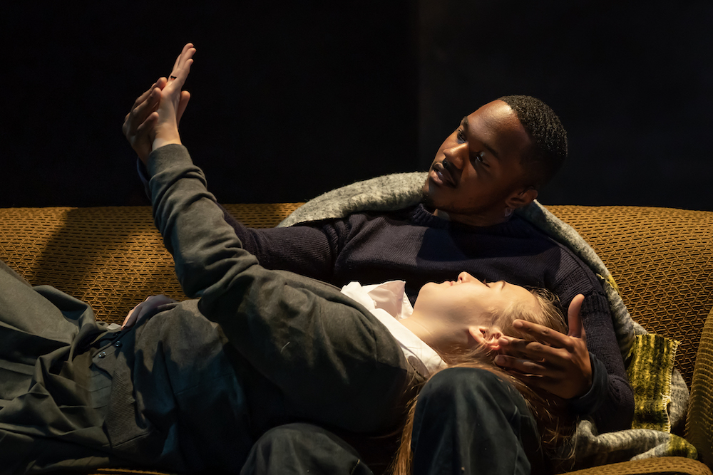 11. Durone Stokes (Jimmie) and Gemma Dobson (Jo) _A Taste of Honey_credit Marc Brenner PROD TOUR-551