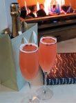 Dartington Pomegranate and Apple Mocktail