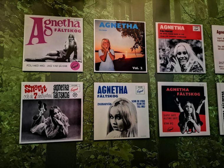 Abba Exhibition Album Covers
