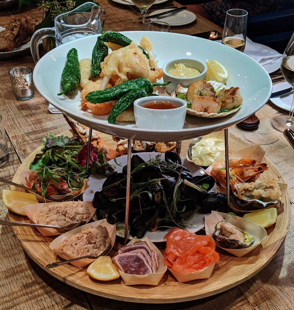 Angel Abergavenny - Seafood Platter