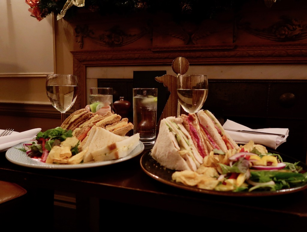 Billesley Manor Hotel - sandwiches