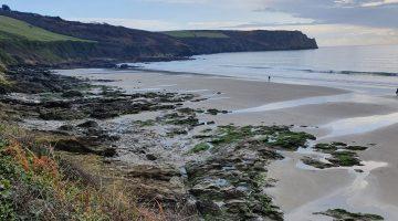 Carne Beach - The Lugger Cornwall