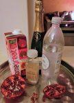 Christmas Pomegranate Mocktail