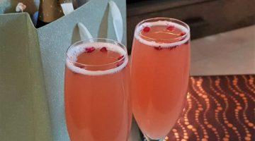 Christmas Pomegranate Mocktail Recipe