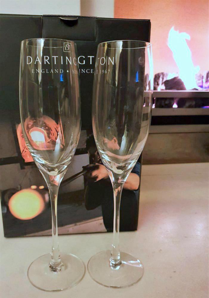 Dartington Champagne Flutes