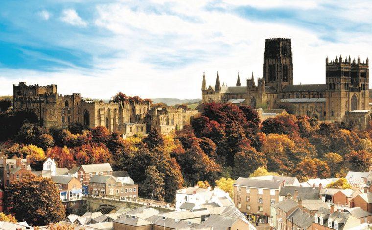 view of Durham skyline