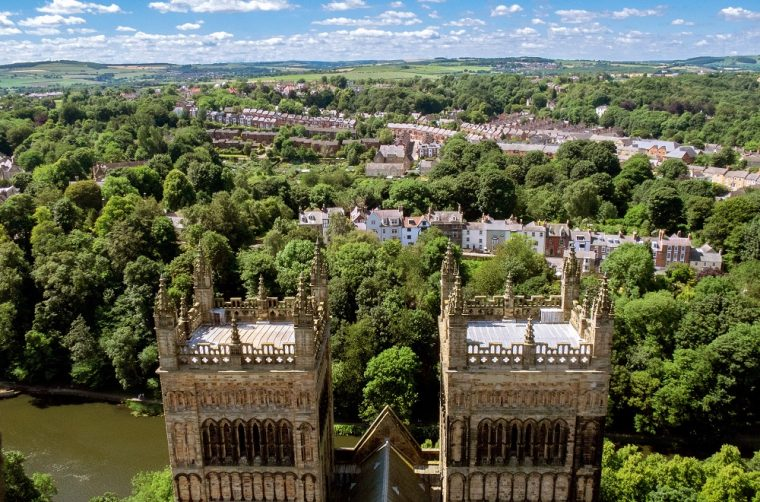 View from the top of Durham Cathedral
