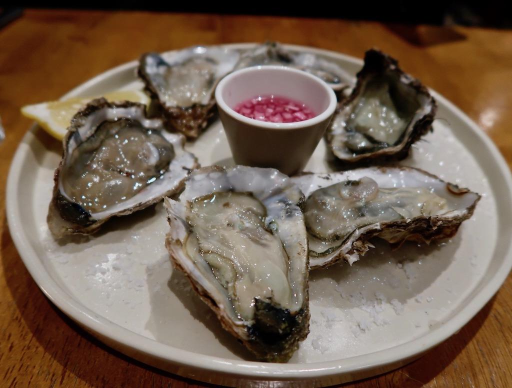 Gunmakers restaurant - Maldon Rock oysters