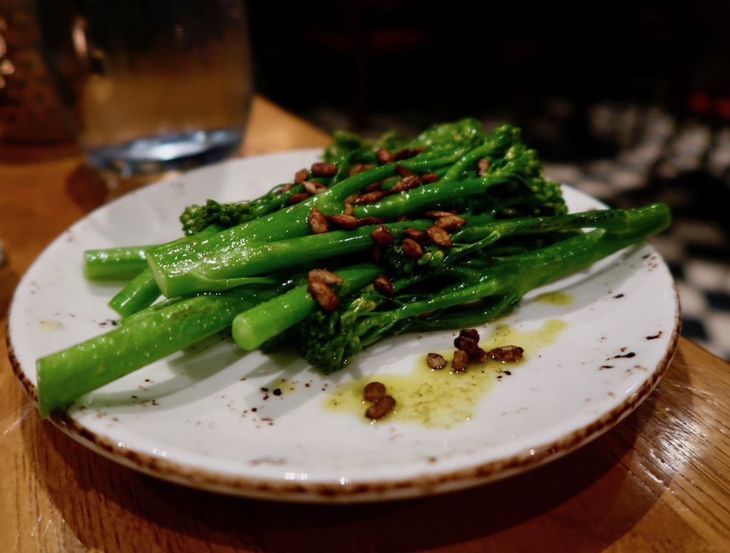 Gunmakers restaurant - Tenderstem broccoli