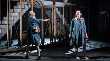 Niamh Cusack, Catherine McCormack in My Brilliant Friend Part 1, image taken by Marc Brenner