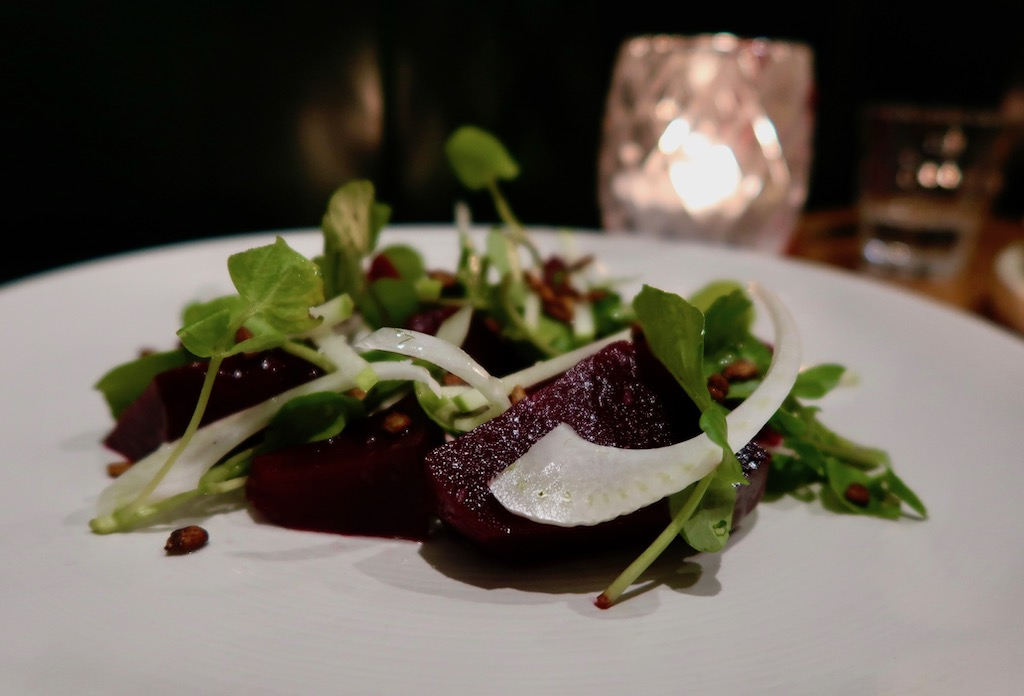 Pickled ruby beets