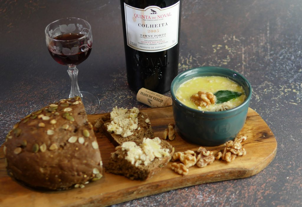 Quinta Do Noval and Potted Stilton