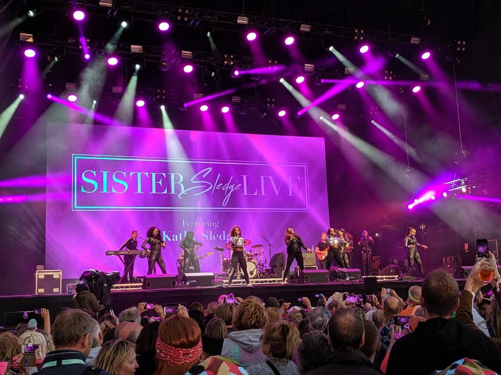 Rewind Festival Sister Sledge Live