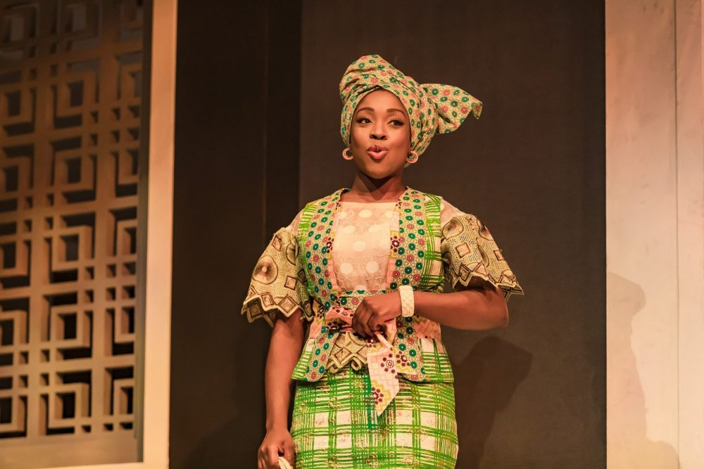 Ronke Adekoluejo (Abosede) in Three Sisters, photo by The Other Richard.-min