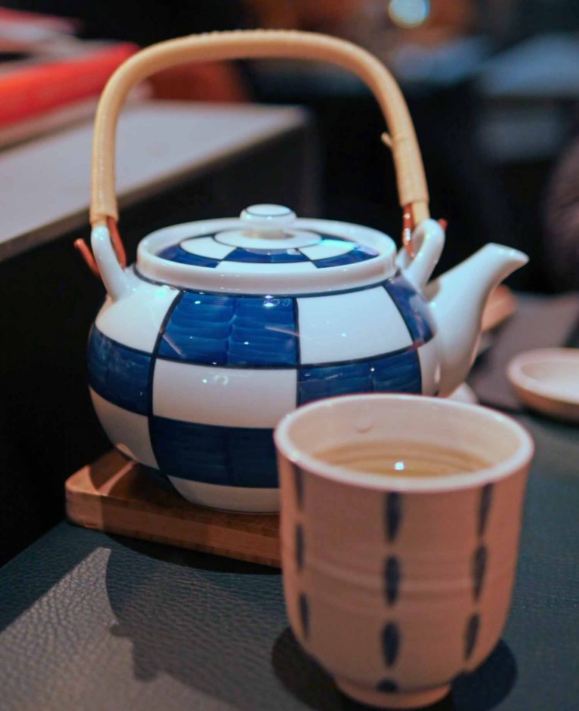 Tea in Japanese teapot