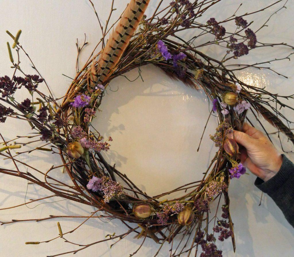 Twig Wreath Abergavenny