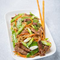 Beef Chow Mein - an authentic Chinese beef stir-fry with noodles and more