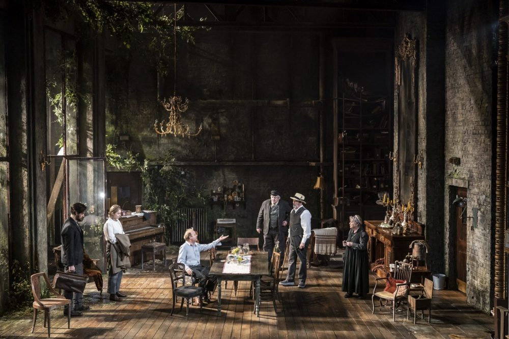 Uncle-Vanya-c-Johan-Persson - stunning set for the play