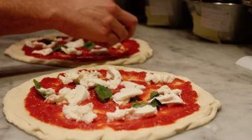 Bellillo pizza prep