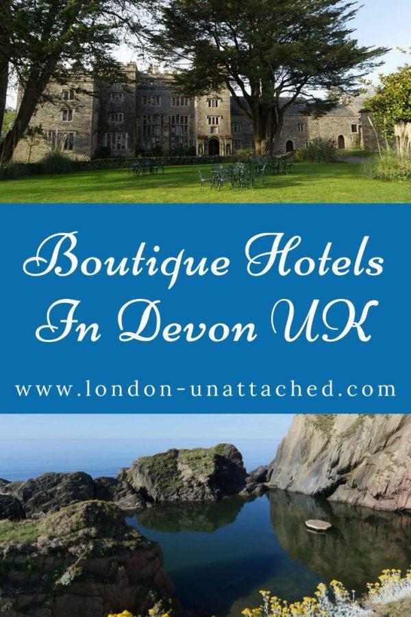 Boutique Hotels in Devon