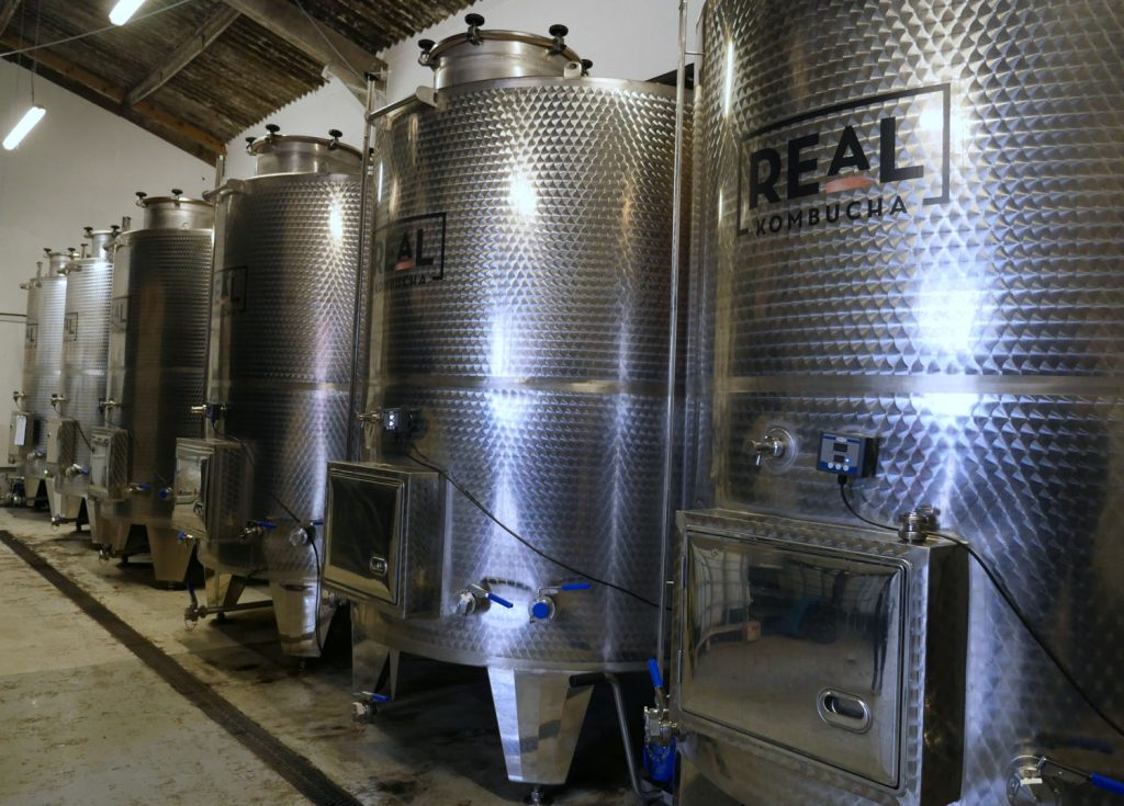 Brewery at the Real kombucha