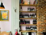 FARMYARD wine shelves