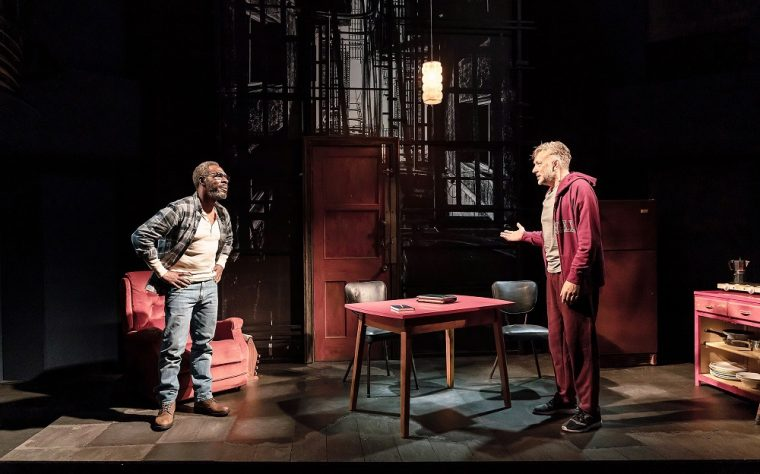 Gary Beadle an Jasper Britton in The Sunset Limited