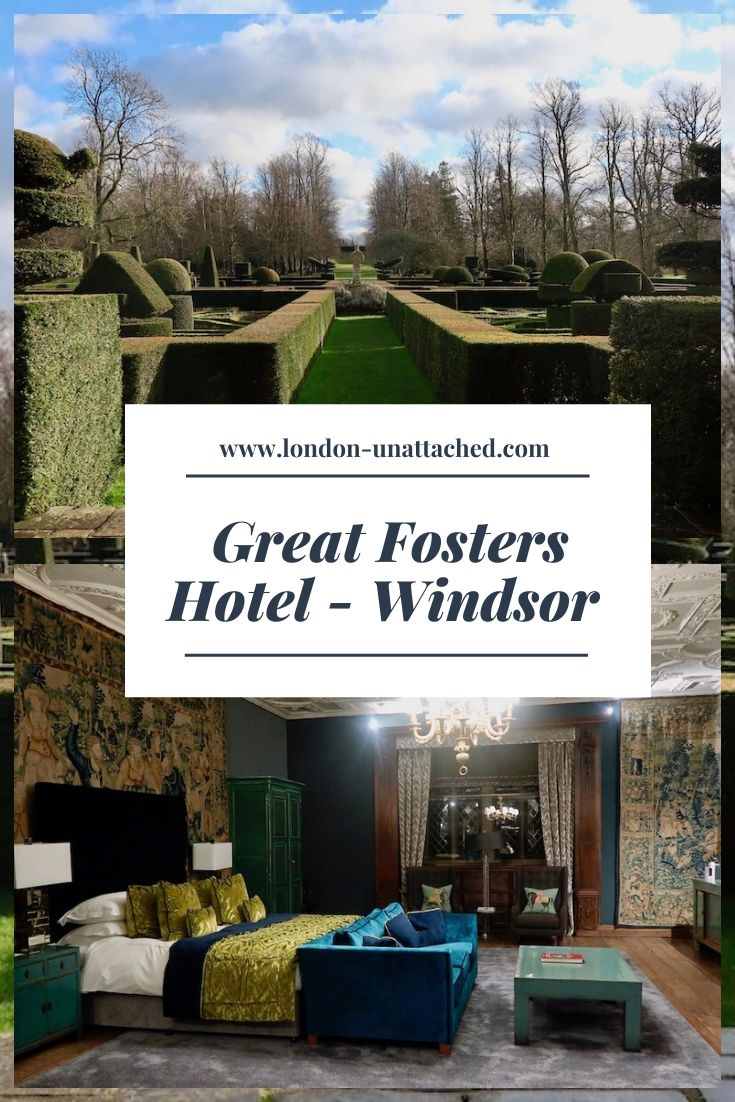 Great Fosters Hotel and Gardens, Egham Surrey