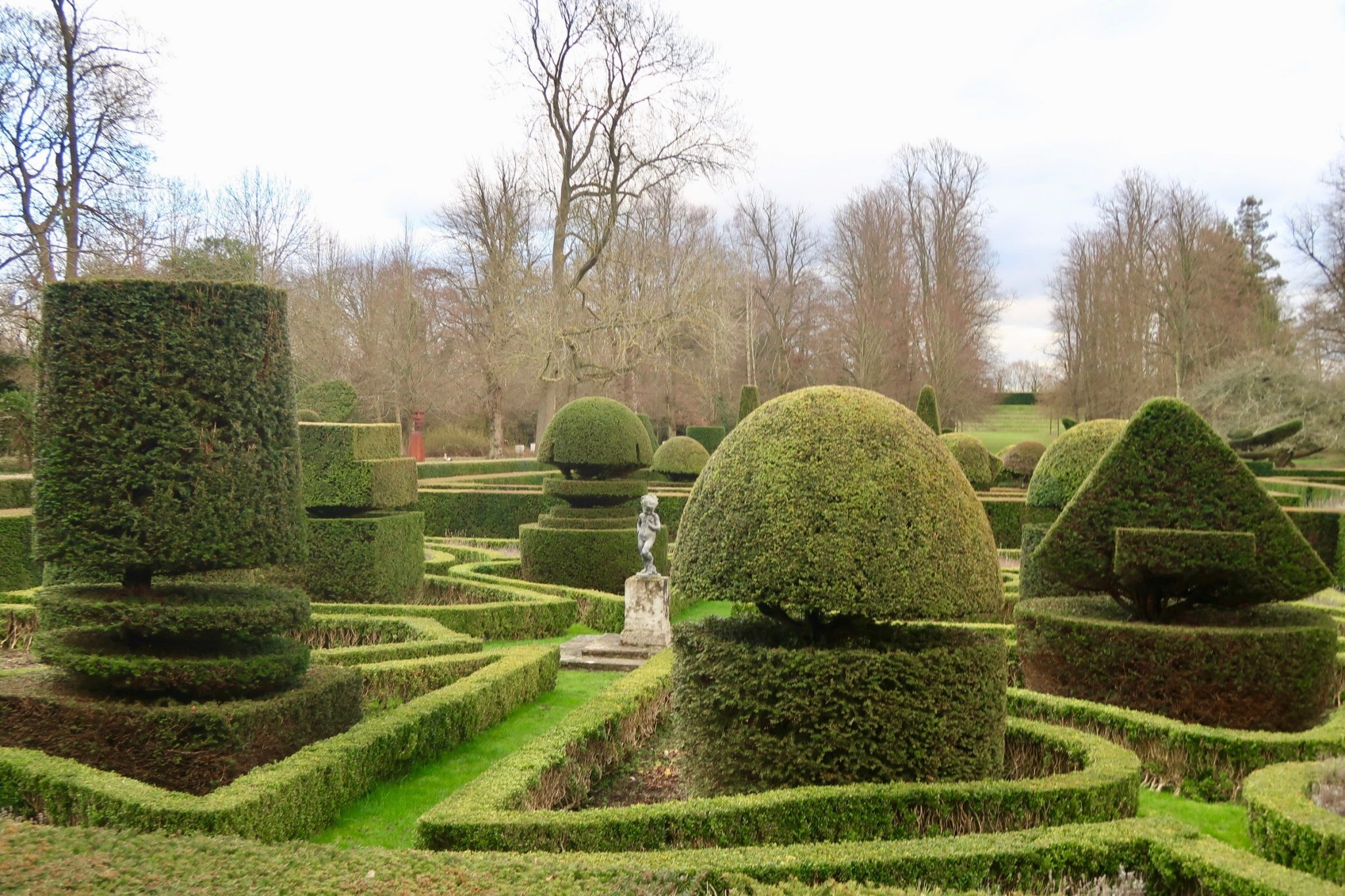 Great Fosters - topiary gardens