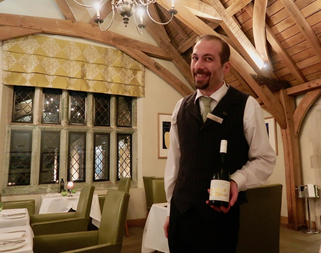 Great Fosters - wine sommelier