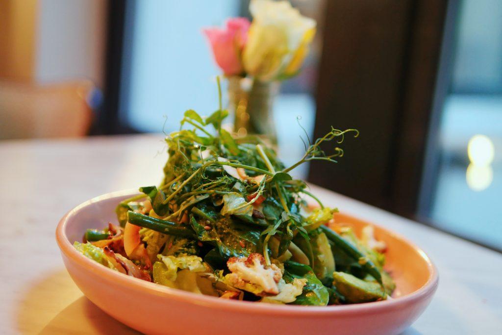 Green Goddess Salad at Scarlett Green Soho