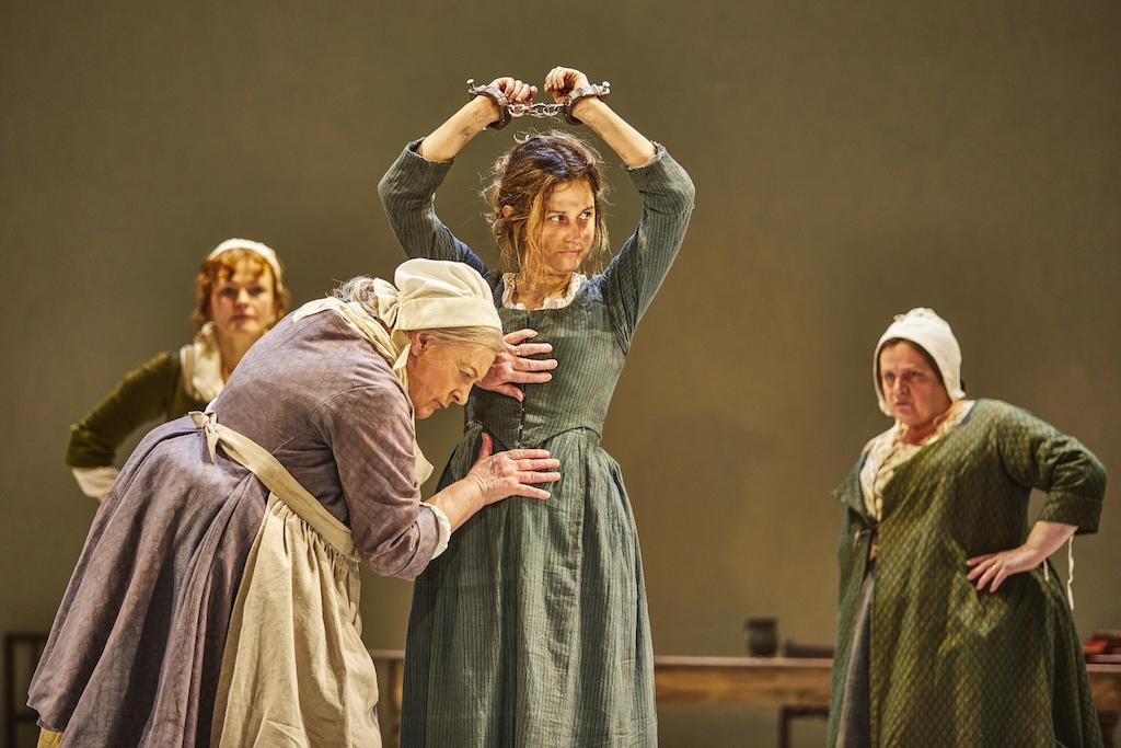 The Welkin - National Theatre - the women check Sally Poppy