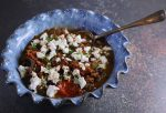Lentil, Aubergine and Feta Stew