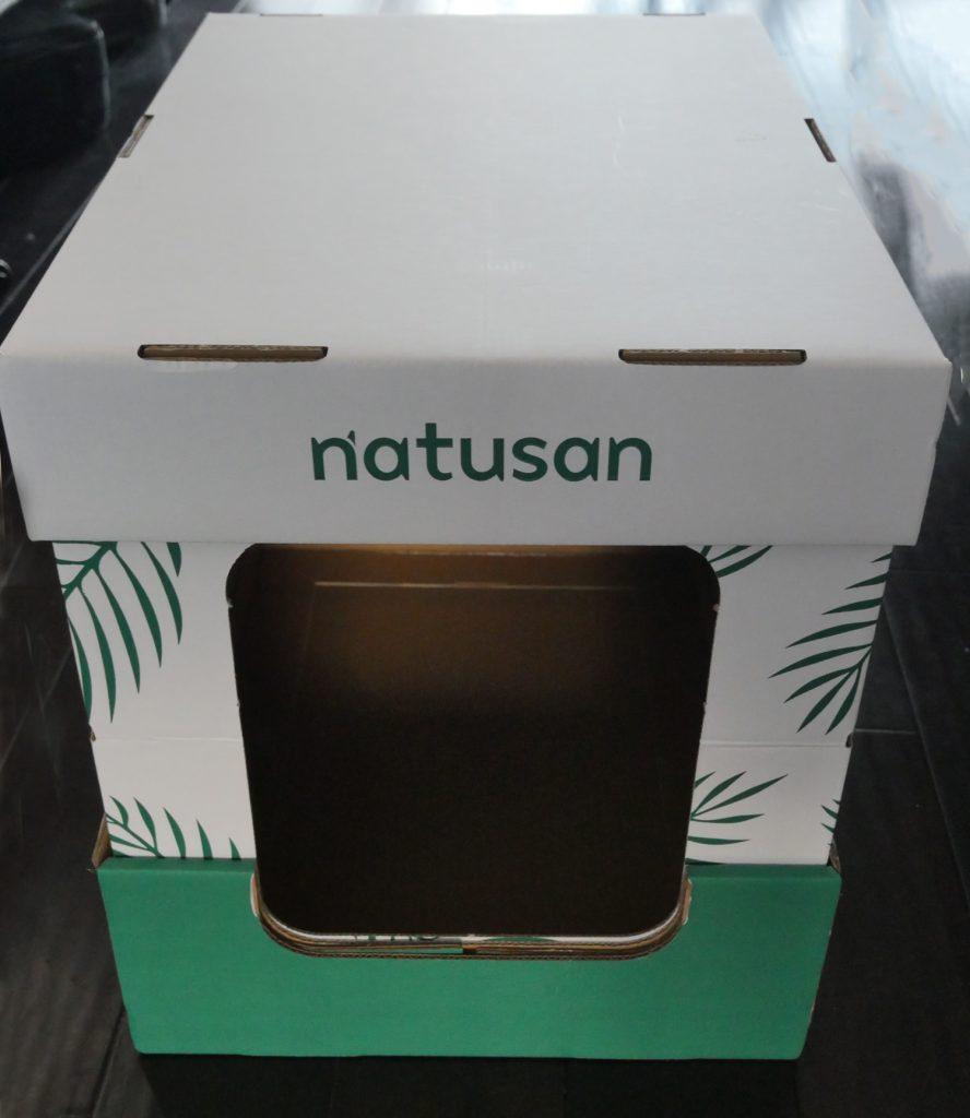 Natusan Cat Litter Made Up Box