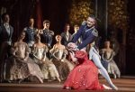 Gary Avis as Prince Gremin and Natalia Osipova as Tatiana in Onegin, Royal Ballet at the Royal Opera House, Feb 2020