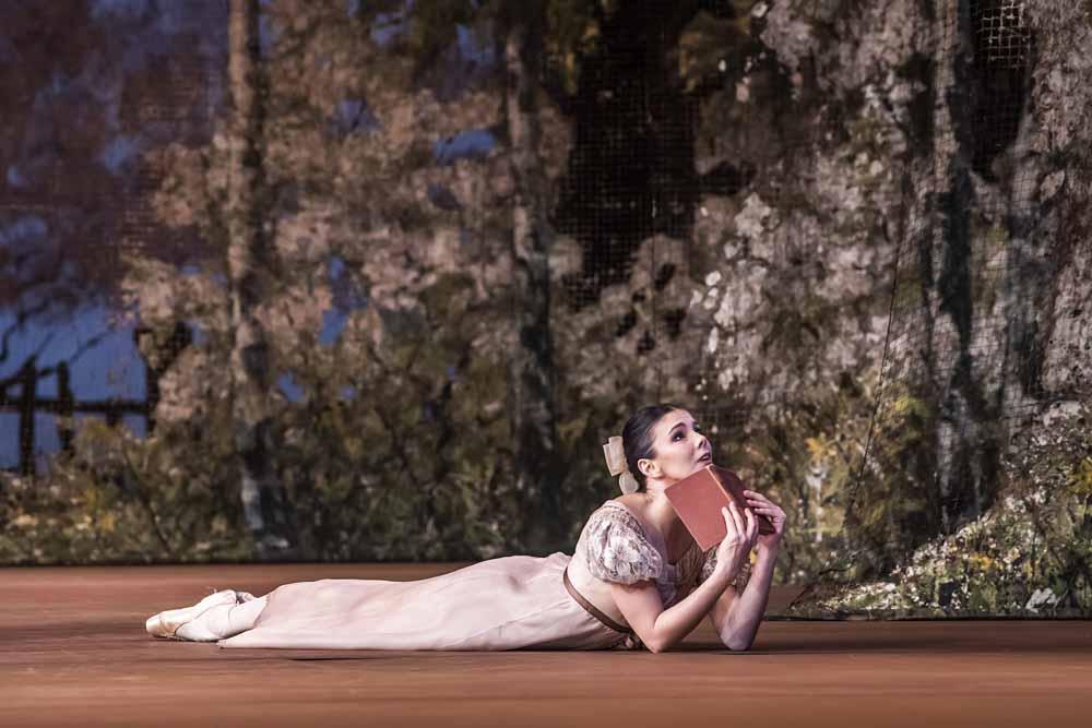 Natalia Osipova as Tatiana in Onegin - Royal Ballet at the Royal Opera House February 2019