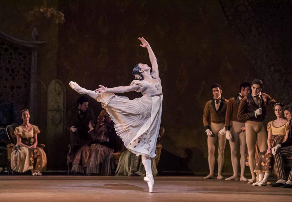 Natalia Osipova as Tatiana in Onegin - Royal Ballet at the Royal Opera House