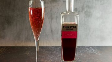 Raspberry Gin Cocktail with Pinkster