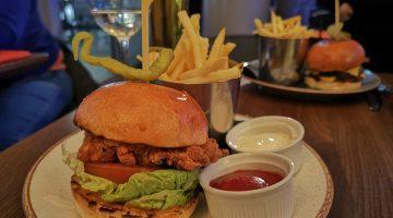 Redwood London Bridge chicken burger