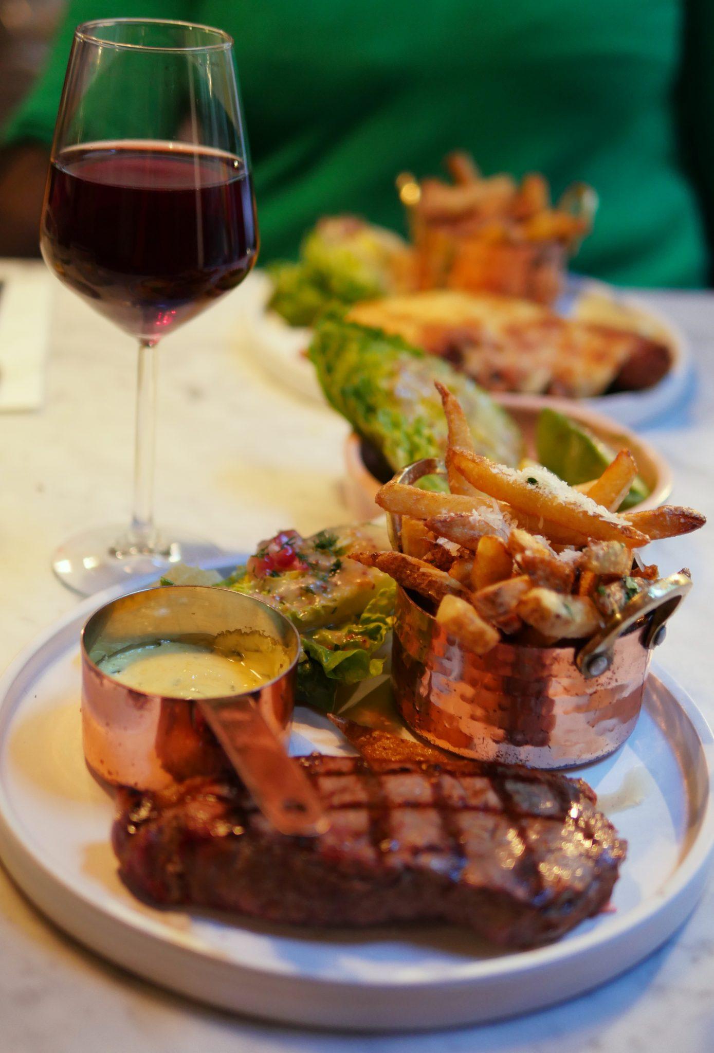 STeak and Chips - Scarlett Green Soho